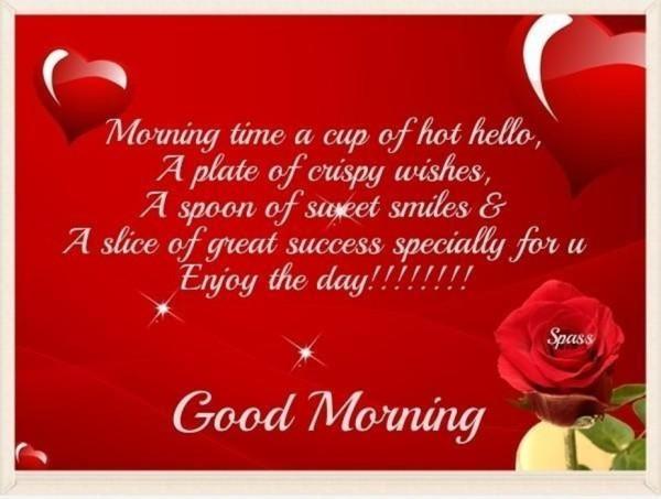 Enjoy The Day Good Morning !-wm13011