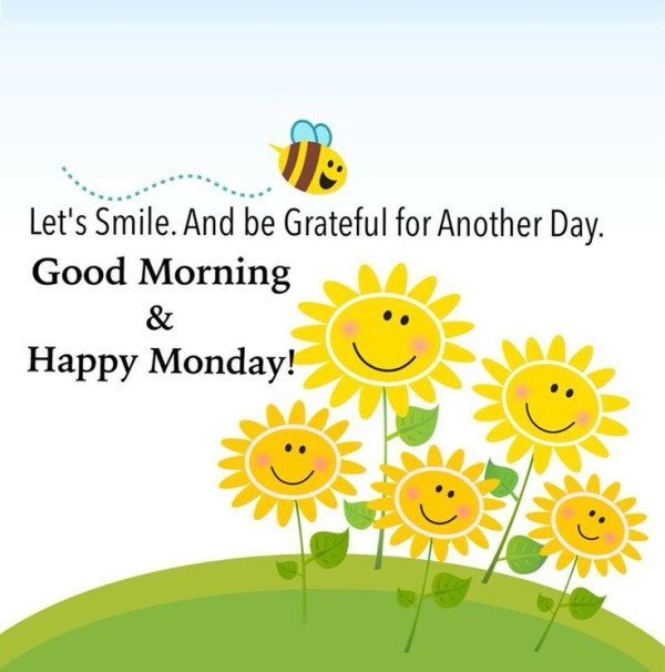 Good Morning Monday In French : Good morning and happy monday