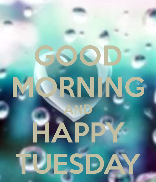 Good Morning And Happy Tuesday !-wm701