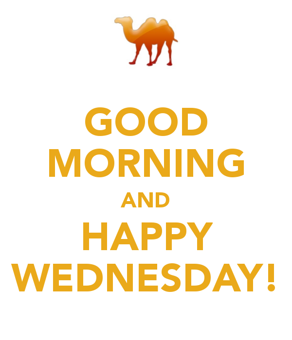 Good Morning And Happy Wednesday-wm805
