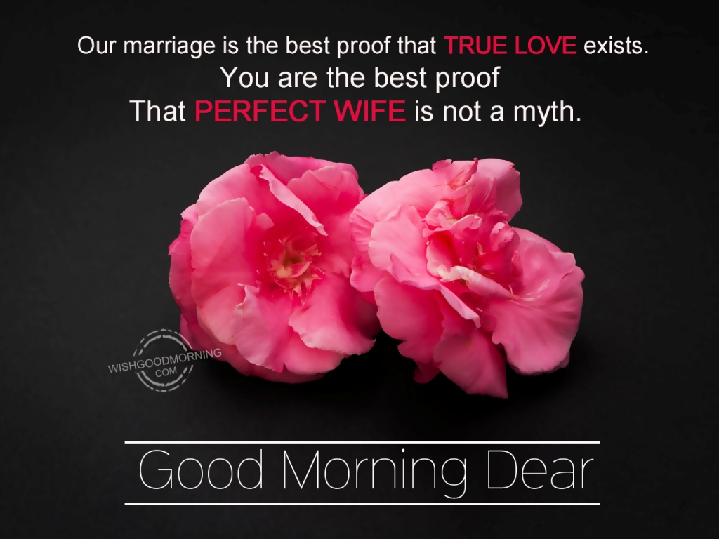 Good Morning Love Dear : Good morning wishes for wife pictures images page