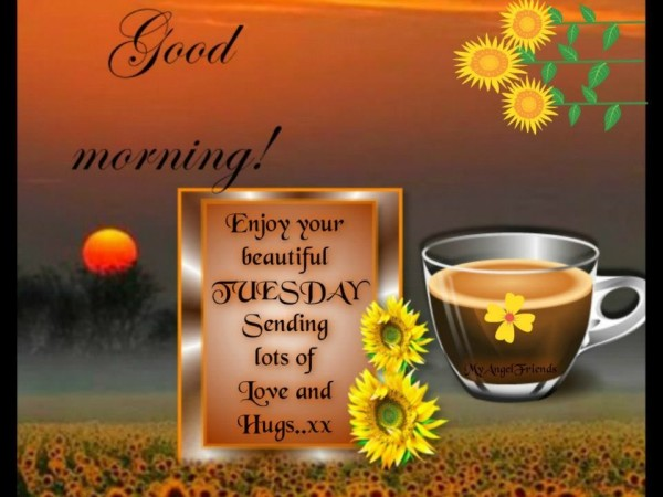 Good Morning Enjoy Your Beautiful Tuesday-wm705