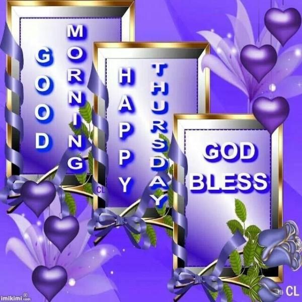 Good Morning Happy Thursday-wm506