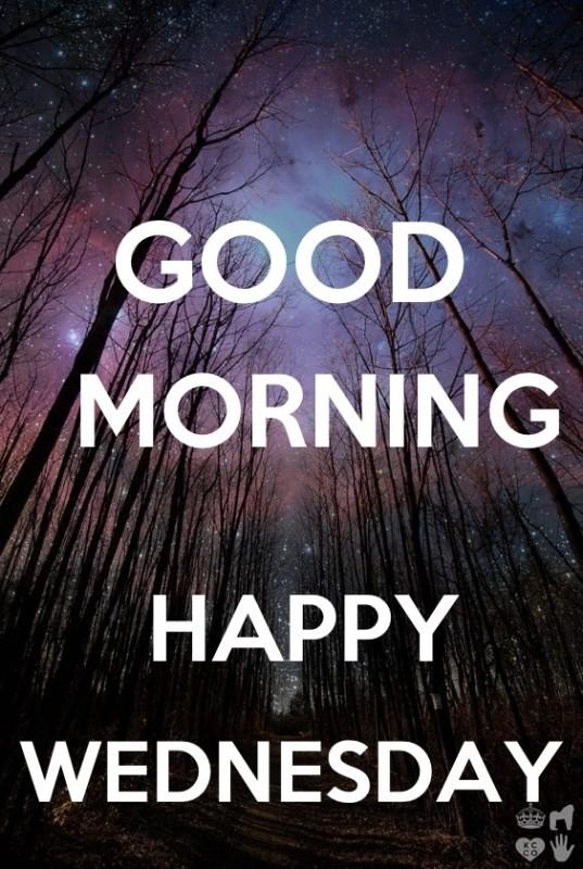 Good Morning Happy Wednesday!-wm814