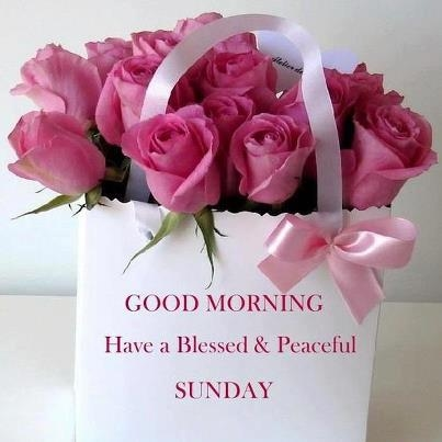 Good Morning Have A Blessed And Peaceful Sunday-wm314