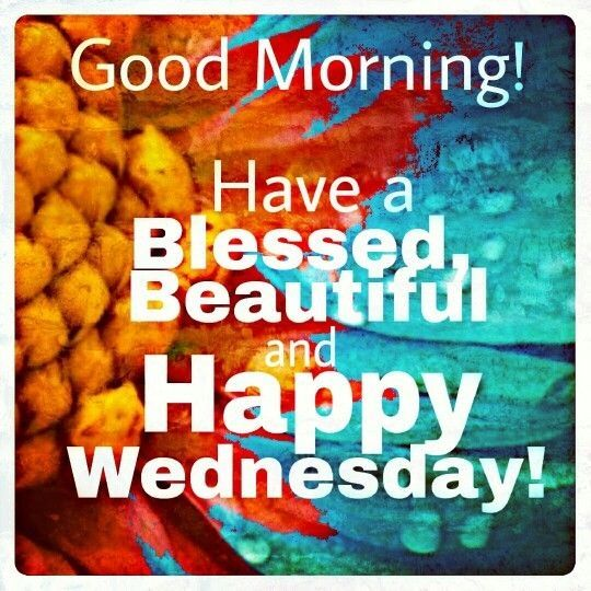 Good Morning Have A Blessed Wednesday-wm816
