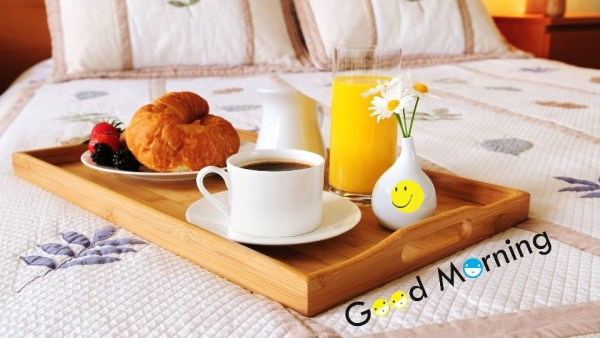 Good Morning Have A Breakfast-wm144