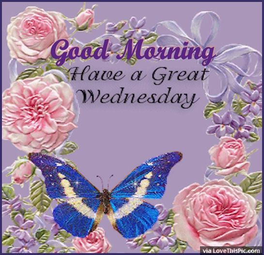 Good Morning Have A Great Wednesday !-wm818