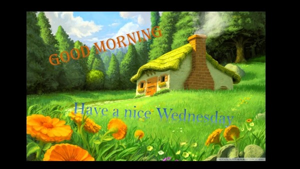 Good Morning Have A Nice Wednesday!-wm823