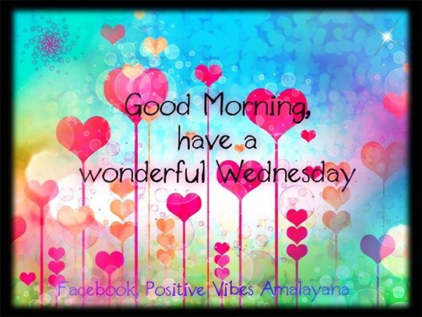 Good Morning Have A Wonderful Wednesday !-wm826