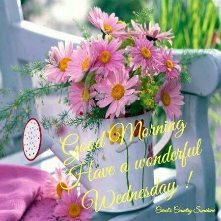 Good Morning Have A Wonderful Wednesday