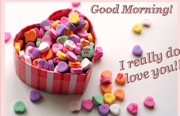 Good Morning  I Really Do Love You-wm1506