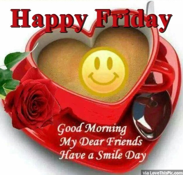 Good Morning My Dear Friends-wm121