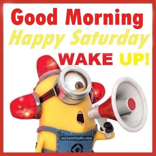 Good Morning Saturday - Wake Up-wm323