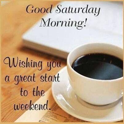Good Morning Saturday-wm327