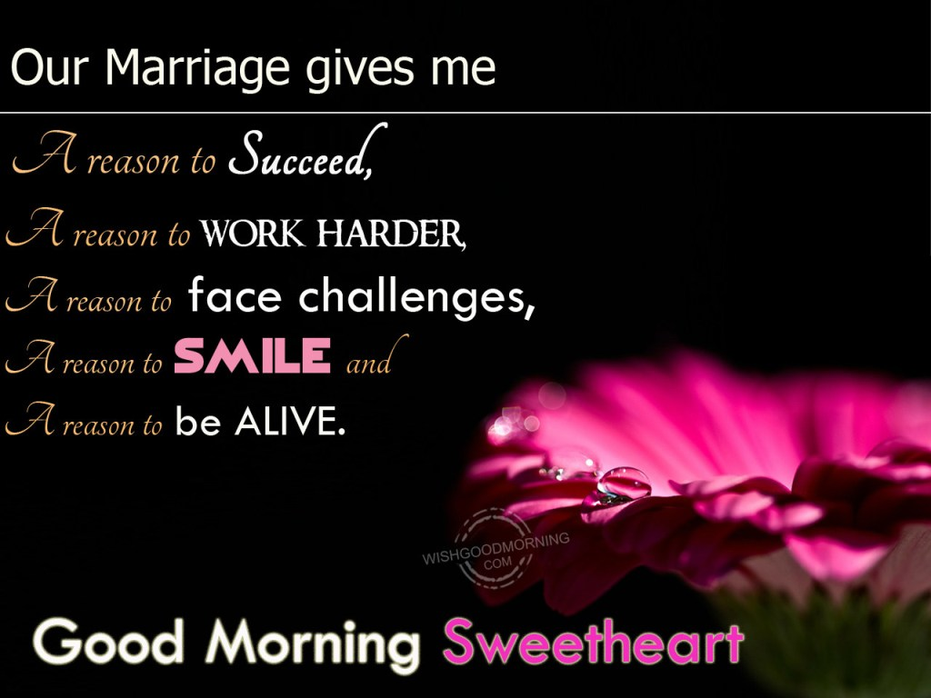 Good Morning Sweetheart: Good Morning Wishes For Wife Pictures, Images