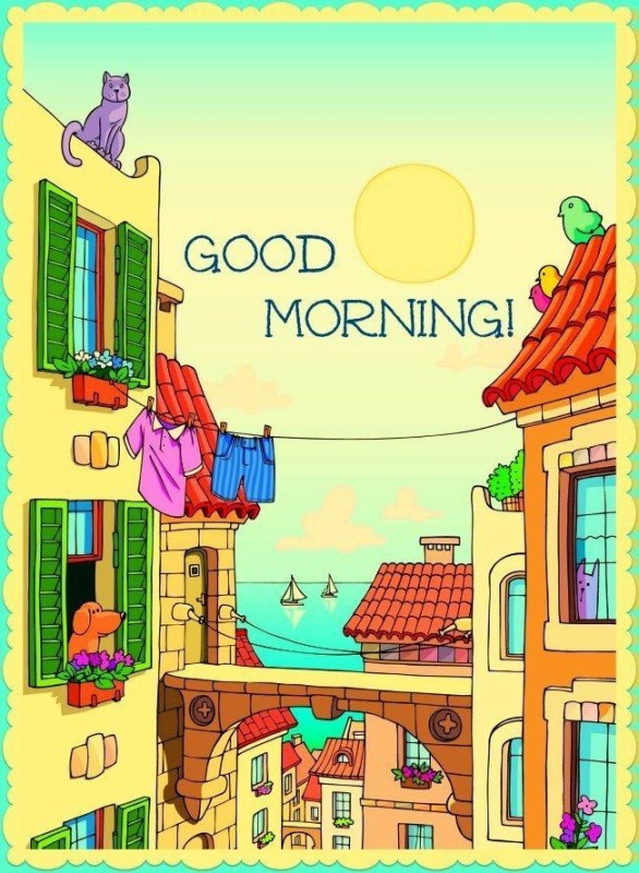 Good Morning To You !-wm916