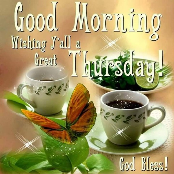 Good Morning Wishing All A Great Thursday-wm519