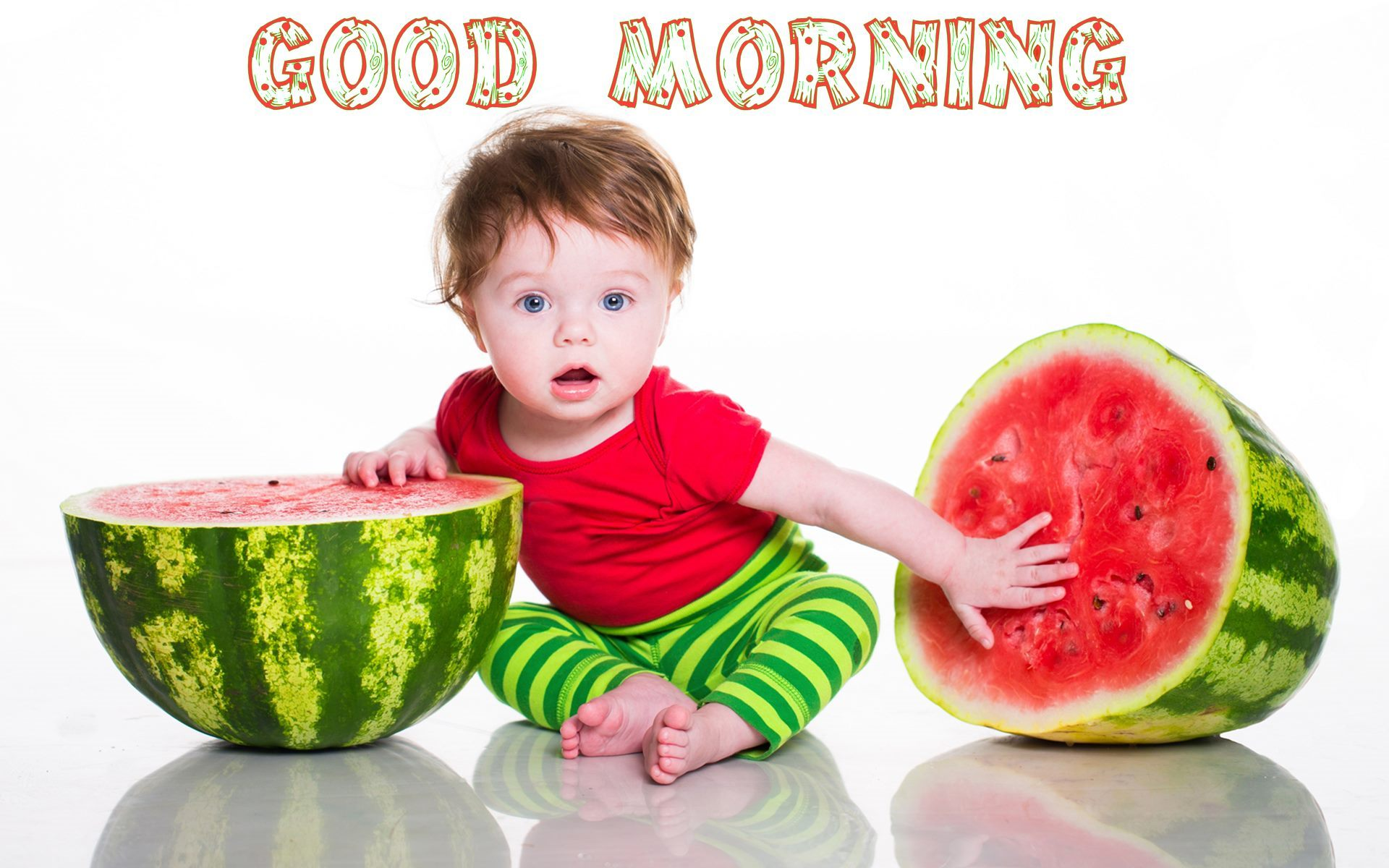good morning wishes with baby pictures, images - page 22