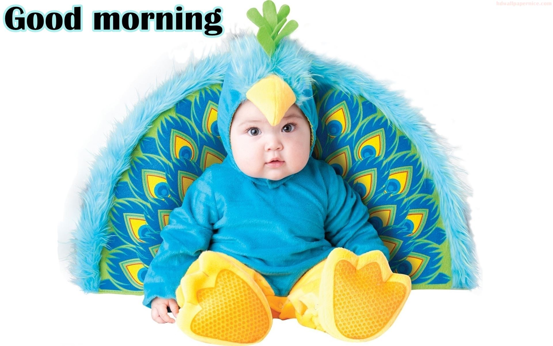 Good Morning Baby Cute : Good morning wishes with baby pictures images page