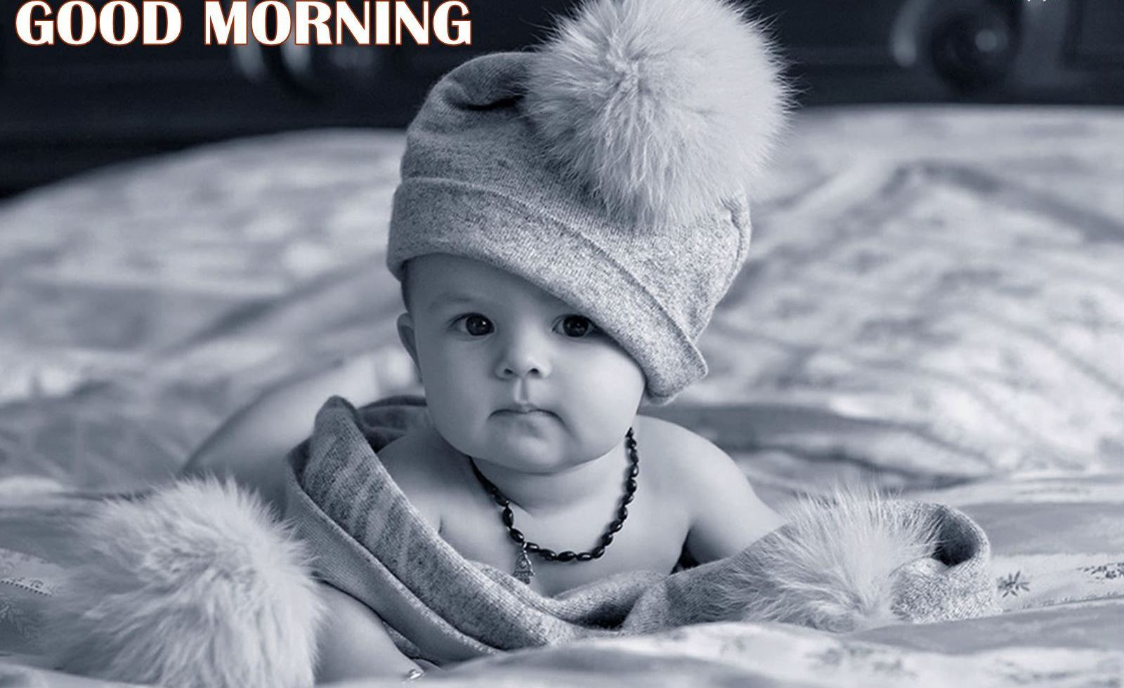 Good Morning With Sweet Little Baby