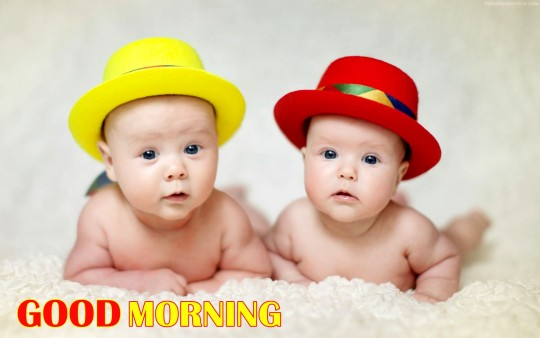 Good Morning My Cute Baby Images : Good Morning Wishes With Baby Pictures  Images Page