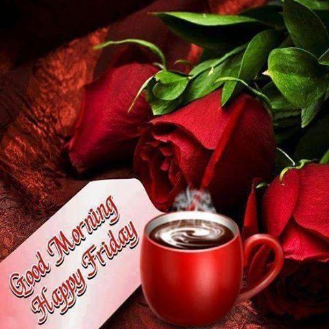Happy Friday Good Morning-wm132