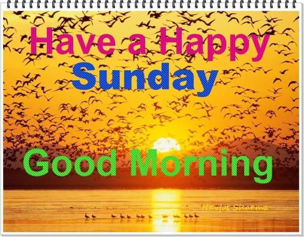 Have A Happy Sunday Good Morning-wm436