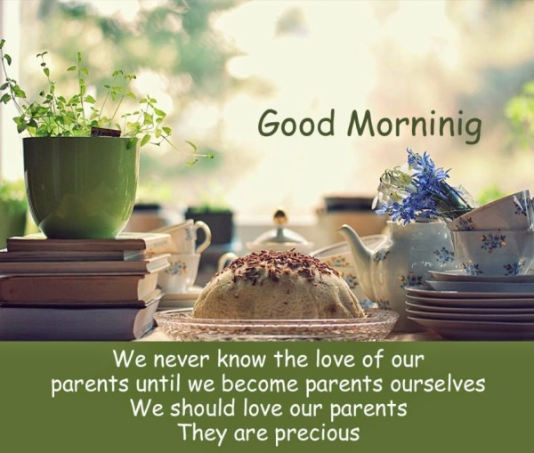 Morning Quote For Parents