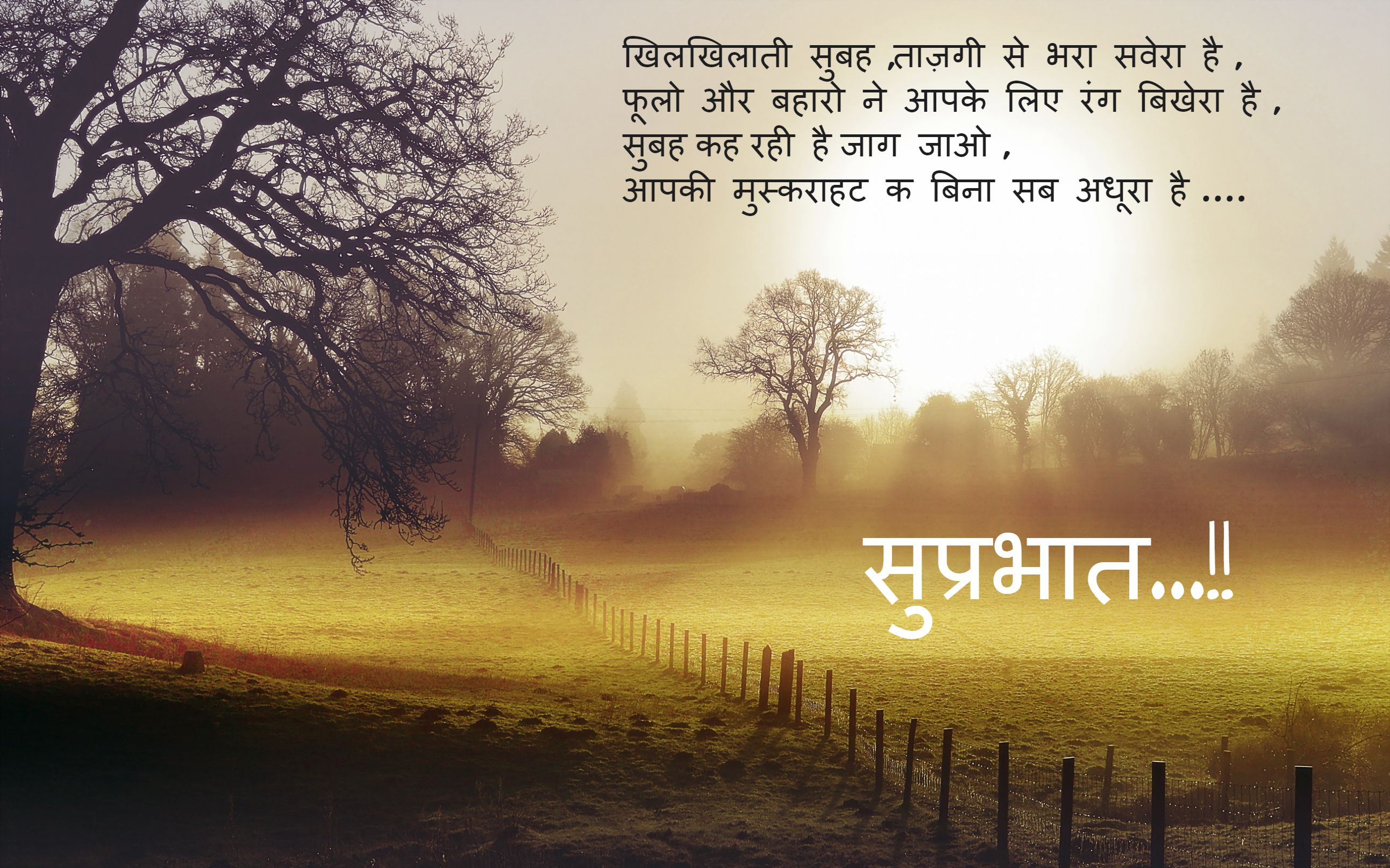 Good Morning Wishes In Hindi Pictures, Images - Page 39