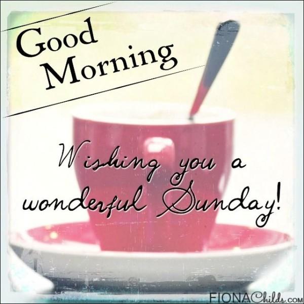 Wishing You A Wonderful Sunday-wm438