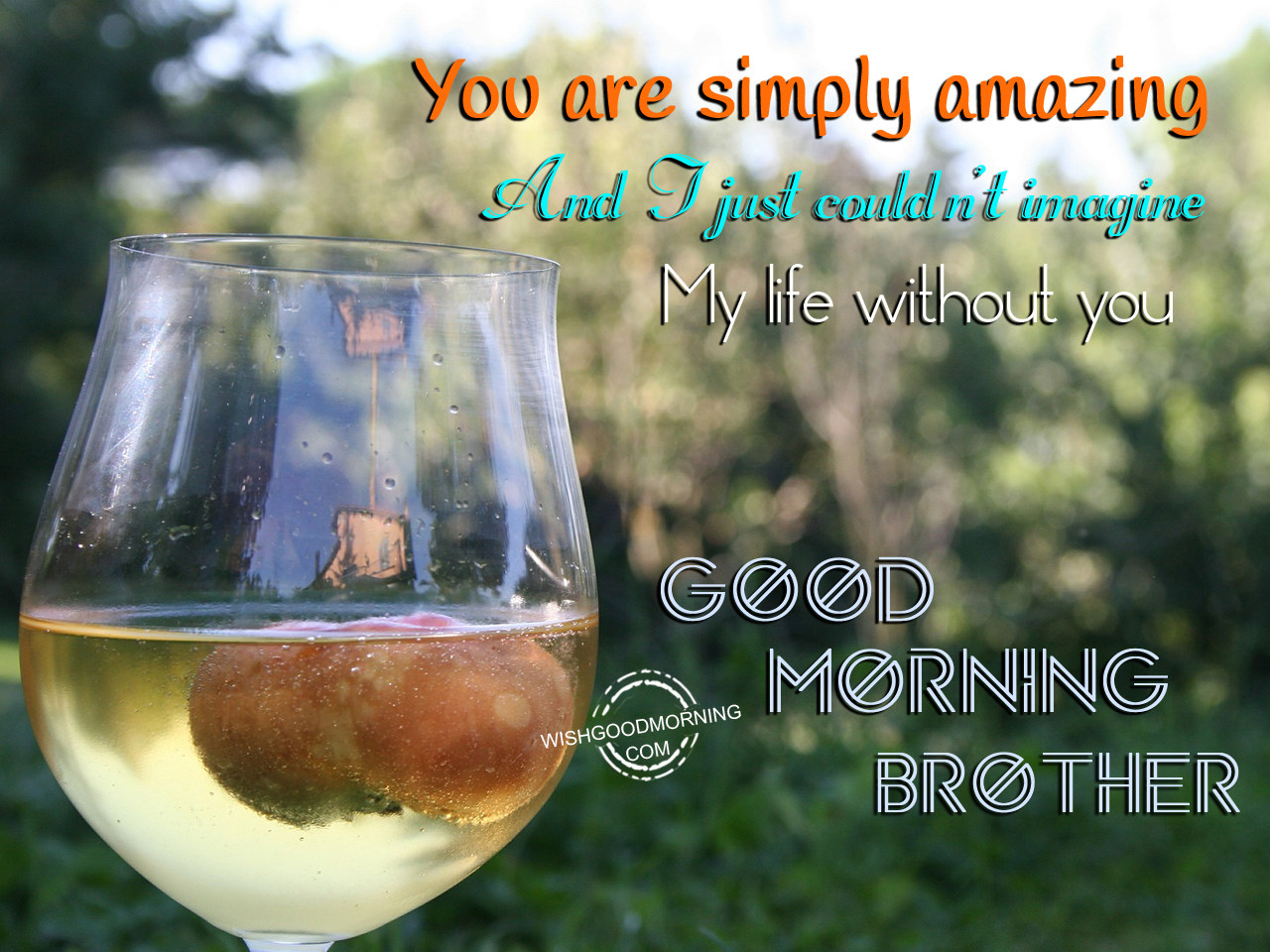 Good Morning You Are Amazing : Good morning wishes for brother pictures images