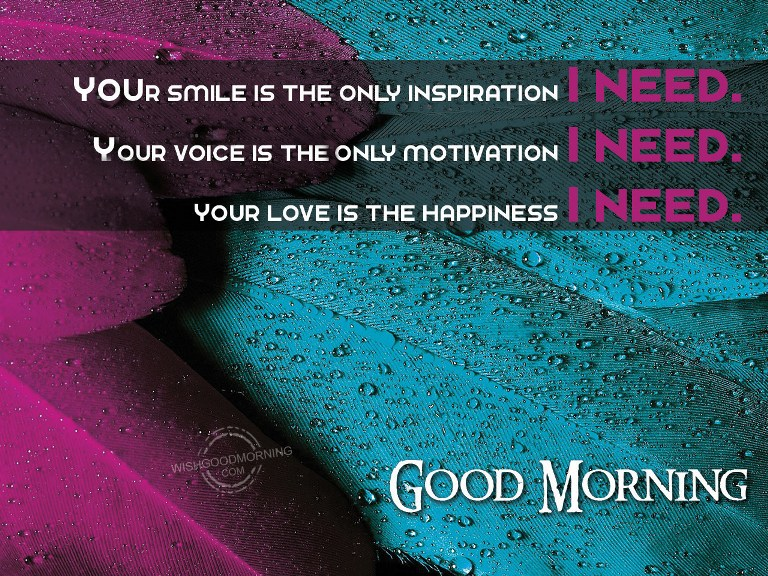 Good Morning Love Symbol : Our love is the happiness i need good morning