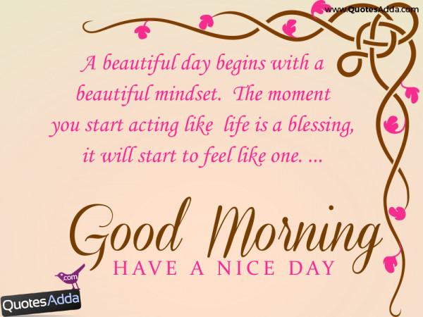 A Beautiful Day Begins- Good Morning-wg02302-wg02501