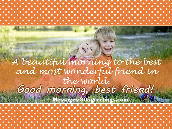 A Beautiful Morning To The Best Friend-wg017001