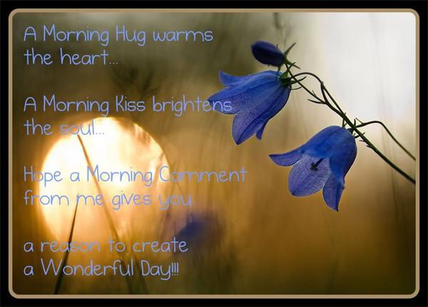 A Morning Hug Warms The Heart-wg01702