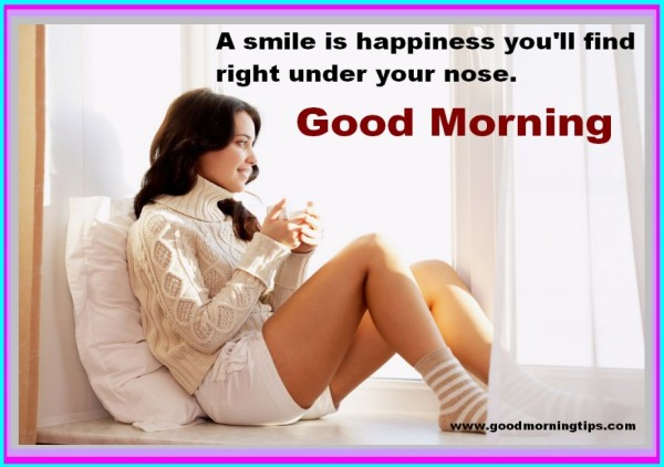 A Smile Is Happiness - Good Morning-wg017005