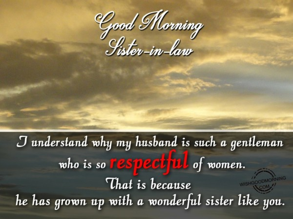 A Wonderful Sister Like You-Good Morning