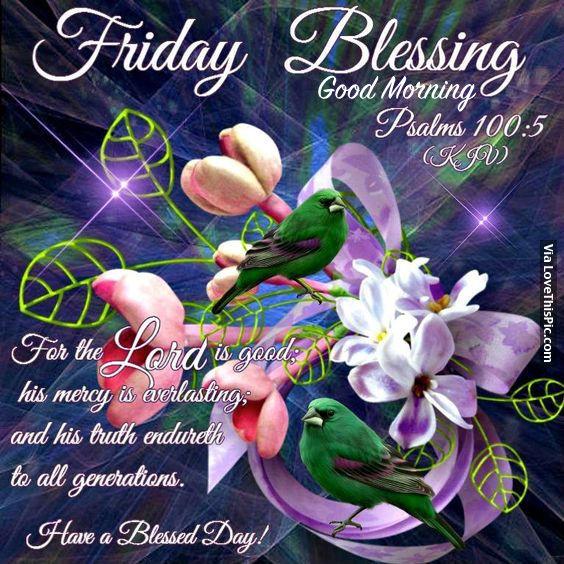 Blessing Good Morning
