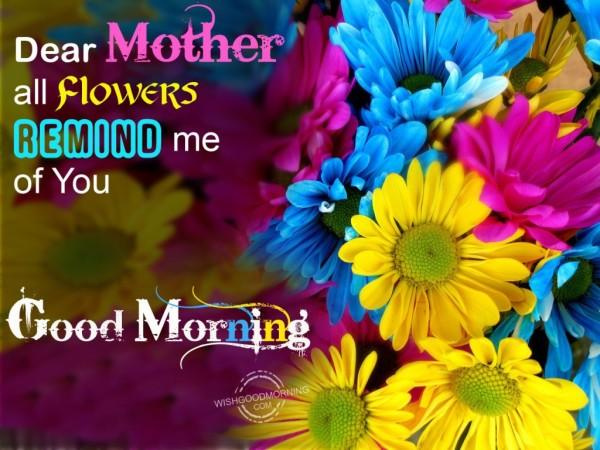 Dear Mother-Good Morning-wg9505