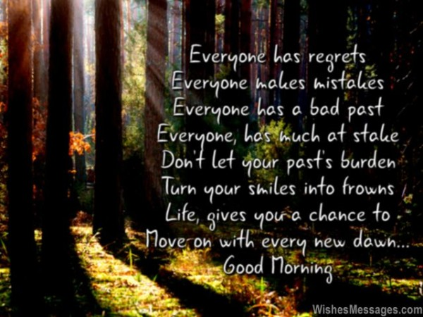 Everyone Has Regrets - Good Morning-wg017013