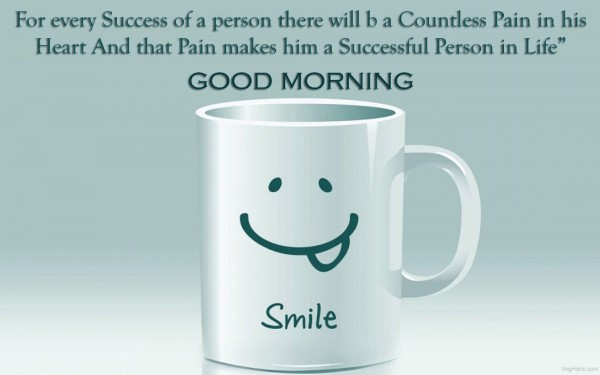 For Every Success Of A Person - Good Morning-wg017015
