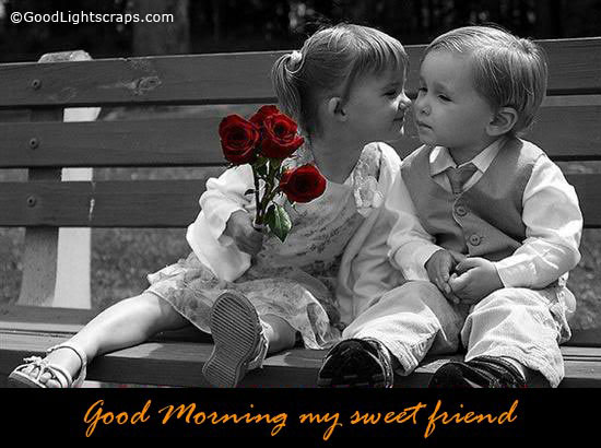 Good Monring My Sweet Friend-wg015021