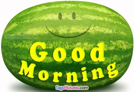 Good Morning Always be Happy-wg01719