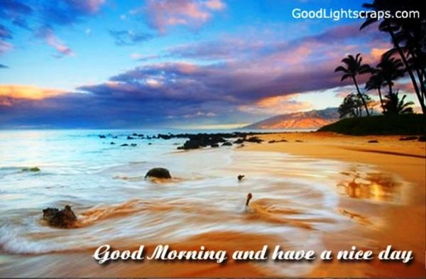 Good Morning - Beach Image-wg01310