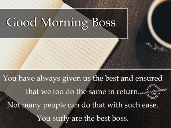 Good Morning Boss-mjk58