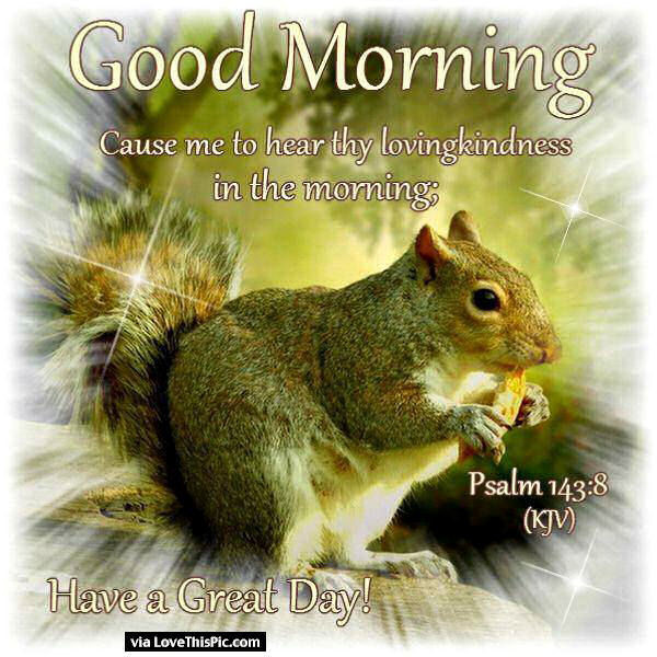 Good Morning Cause Me To Hear Thy Loving-wg01629