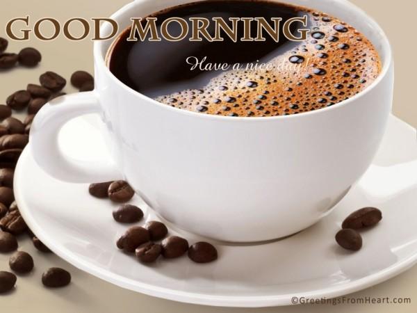 Good Morning - Coffee-wg01509