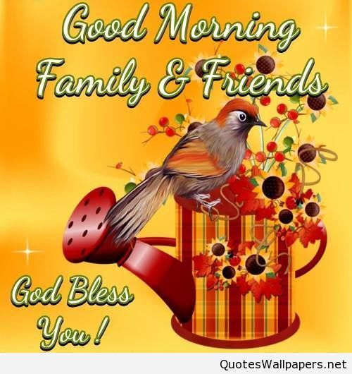 Good Morning Family Friends-GD11