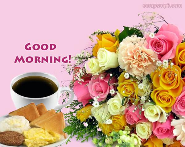 Good Morning - Flowers-wg017027